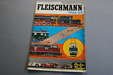 X047 FLEISCHMANN Train catalogue Auto rallye Ho 1968 69  Deutch DM Katalog