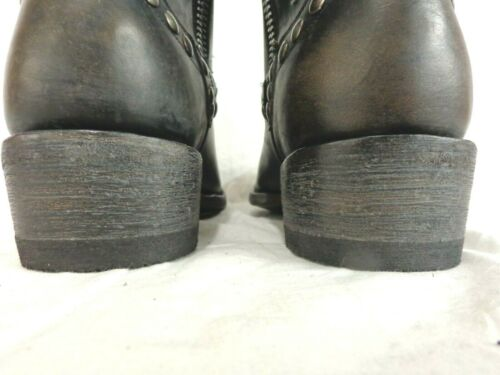 """Old Gringo Men/'s Boot~Rockrazz~10/"""" Sq.Toe ~Studded~M 598-21~Was $470 Now $400"""