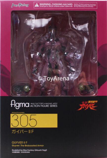 Action- & Spielfiguren Figma 305 Guyver The Bioboosted Rüstung Guyver II F Actionfigur Max Factory Neu