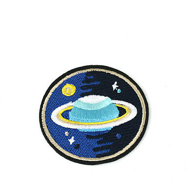 Embroidery NASA Planet Star Sew Appliques Patch  1pcs Bag Shoes Decor Lovely bg