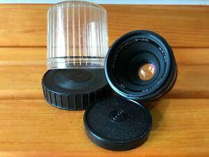 MC INDUSTAR-61L/Z F2.8/50mm SLR lens M42 Zenit Nikon Canon made in USSR №0300129