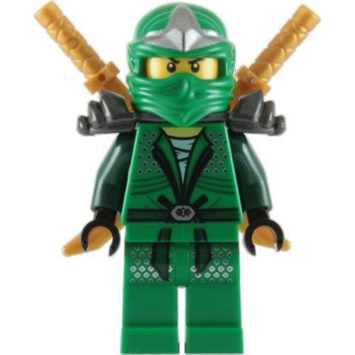 NEW LEGO NINJAGO ZX LLOYD MINIFIGURE ARMOUR GREEN NINJA 70651