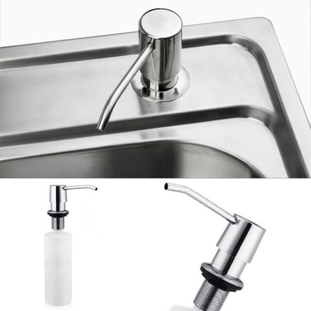 HD_ 300ML Soap Dispenser Kitchen Sink Faucet Bathroom Shower Lotion Shampoo Pump