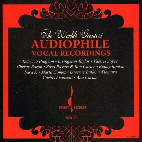 Various Artists - World's Greatest Audiophile Vocal Recordings [New SACD]