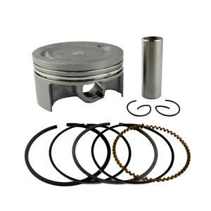 Piston Rings Pin Kit STD 74mm For Yamaha YBR250 XT250 Serow YFM25R Raptor 250