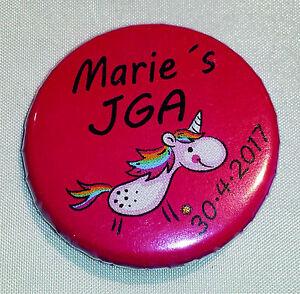Ehrlich B117 Einhorn Unicorn Buttons Jga Braut Junggesellinnenabschied Button Brautschmuck