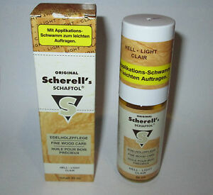 Original-Scherell-039-s-Schaftol-Fine-Wood-Care-oil-Best-stockoil-See-proof-inside