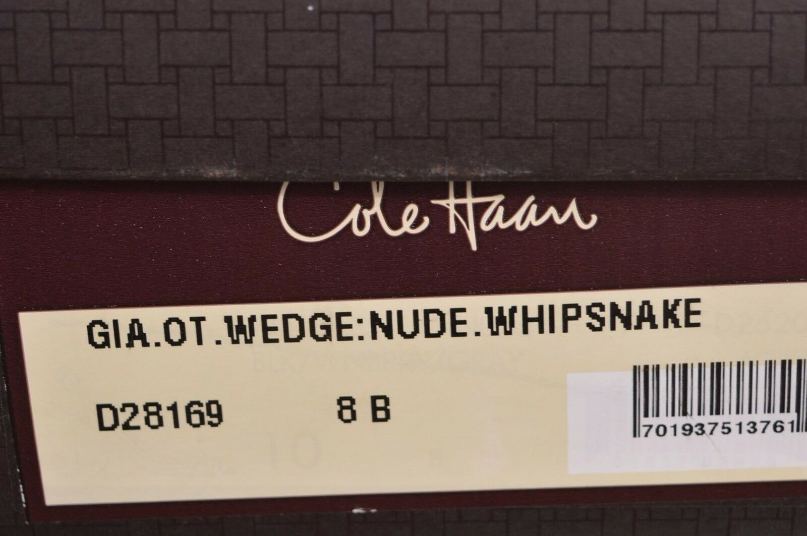 NEW SNAKE COLE HAAN WOMEN'S WHIP SNAKE NEW WEDGE SANDALS Schuhe 8 8c2fc0