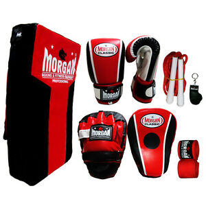 BOXING-TRAINING-PACK-STRIKE-SHIELD-BAG-MITTS-FOCUS-PADS-HAND-WRAP-ROPE-MMA-KICK