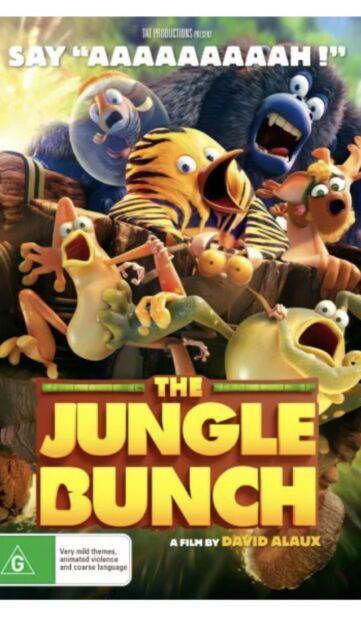 The Jungle Bunch  - DVD - NEW Region 4 Aussie Release