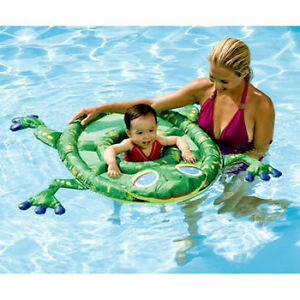 Details about swimways 11607 swimming pool frog baby amp toddlar spring