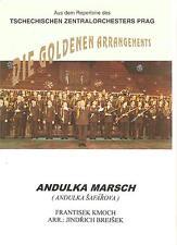 Blasmusiknoten Andulko Safarova Marsch
