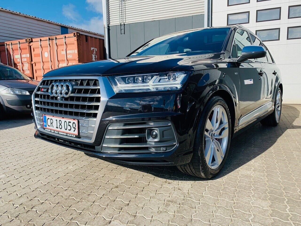 Audi SQ7 4,0 TDi quattro Tiptr. 5d - 9.250 kr.