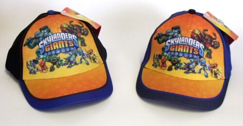Official BOYS SKYLANDERS GIANTS HAT CHARACTER CAP 1-8 YEARS 52cm  54cm