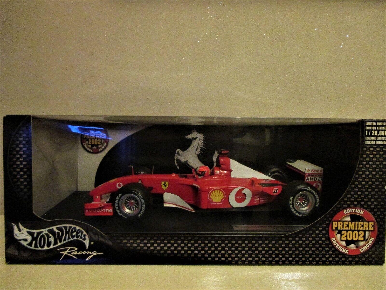 F1 F1 F1 FERRARI SCHUMACHER F1 F2002 1st EDITION 1 18 NEUVE MATTEL  n°1 20000 7763d2