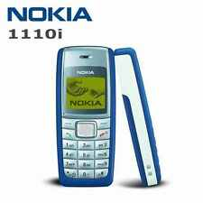 BRAND NEW NOKIA 1110i 4MB BLUE FACTORY UNLOCKED CLASSIC MOBILE PHONE UNLOCKED