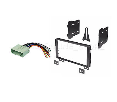 SCOSCHE FD1428B CAR STEREO RADIO DASH INSTALL KIT WIRE HARNESS PACKAGE DBL DIN
