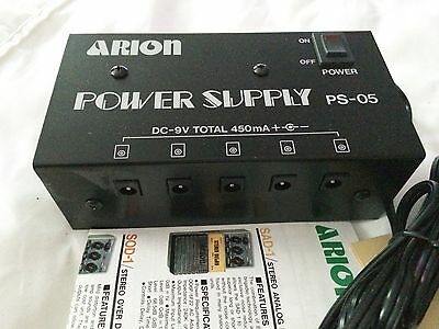 Arion Power Supply PS05 1980s NOS Made in Japan