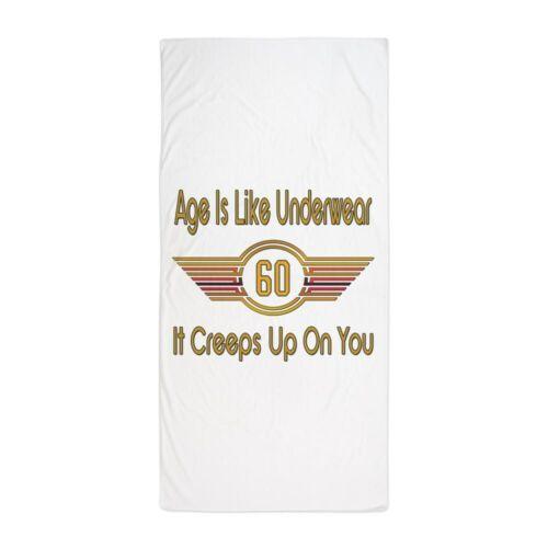 CafePress Funny 60Th Birthday Beach Towel 57703488