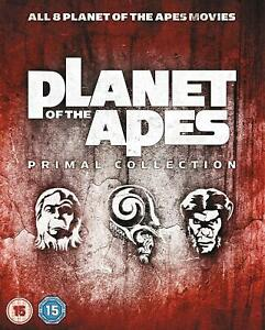 Planet of the Apes - Primal Collection (Blu-ray) All 8 Planet of the Apes films