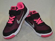 65422f55c55f item 7 Nike Flex Experience 4 Black Silver Pink Toddler Girl s Running Shoes-Size  5  6 -Nike Flex Experience 4 Black Silver Pink Toddler Girl s Running ...