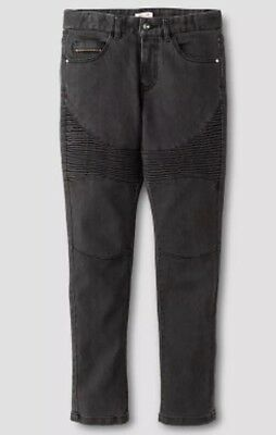 Moto Denim Jeans Greyhound Size 7 New Boy's Mossimo Supply Co