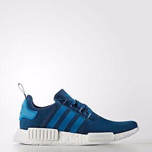 Adidas-Unisex-Originals-NMD-R1-Running-Shoes-Blue-S31502