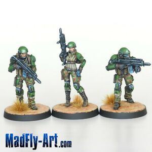 USAriadna-Grunts-MASTERS6-Infinity-painted-MadFly-Art