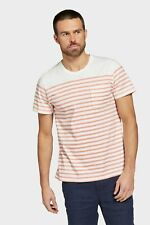 Academy Brand Mens Simmons T Shirt in Melon