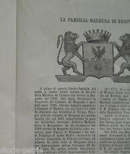 ARALDICA_SICILIA_PUGLIA_PISA_PORTOGRUARO_MILANO_LAVAGNA_MALDURA_NOTAIO BOISSIN