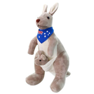 1X-Sweet-Kangaroo-Stuffed-Animal-Soft-Plush-Doll-Toys-for-Baby-Kids-Blue-L1U9