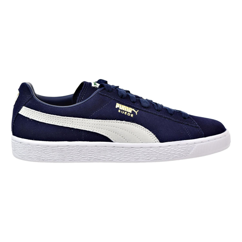 Puma Suede Classic Men's Sneakers Peacoat-White 356568-51