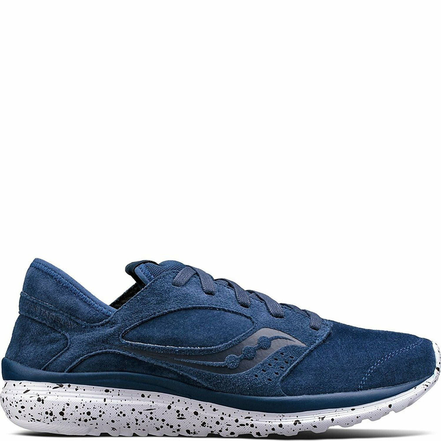 Saucony  Mens Kineta Relay Suede Navy Athletic schuhe