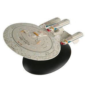 Star Trek Future Enterprise D Model by Eaglemoss - Subscriber Special