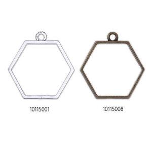 20-Hexagon-Open-Back-Bezels-Pendants-for-Necklace-13x14-5mm-Open-Back-Frame
