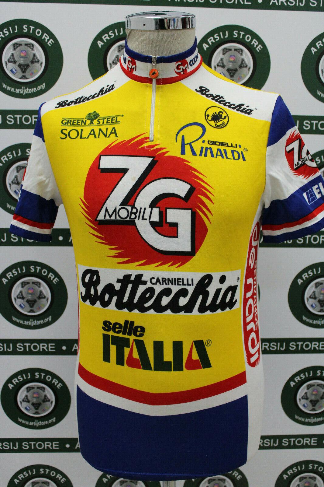 Maglia ciclismo ZG MOBILI TG IV IV IV M438 bike shirt maillot trikot camiseta f5a