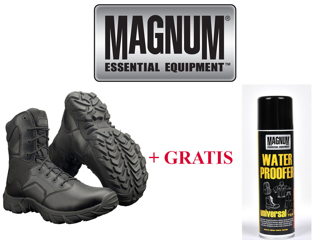 MAGNUM Hi-Tec Leder Cobra 8.0 Stiefel Stiefel Army Schuhe Kampfstiefel Gr.36-48 HT