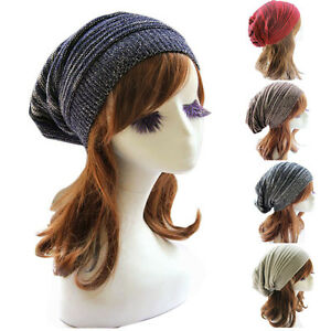 Unisex-Donna-Beanie-Cappello-Inverno-Maglia-Largo-Autunno-Caldo-per
