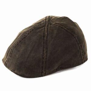 Brown Warmes Lob Von Kunden Zu Gewinnen Kleidung & Accessoires Diplomatisch Stetson Level Duckbill Cap
