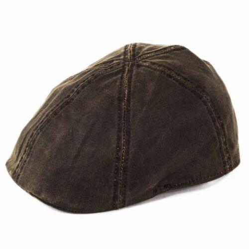 Stetson Level Duckbill Cap Brown