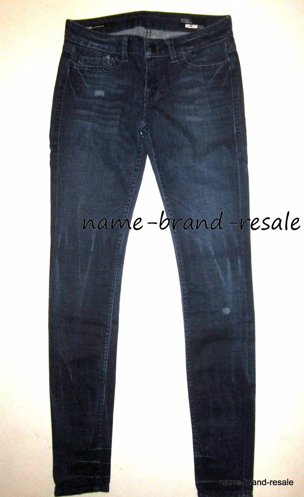 WILLIAM RAST NEW  Sienna LEGGING Jeans WOMENS 26 x 32 Skinny Leg Dark Denim