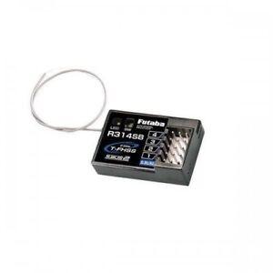 Futaba 4 canaux R314SB 2.4GHz T-FHSS Receiver for 4PV 4PLS 3PV 7PX 4PX