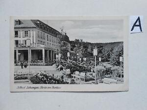 Carte Postale Vue Carte Saxe. Solbad Salkunden Temporus Le Kurhaus-afficher Le Titre D'origine