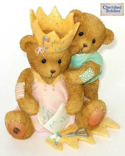 CHERISHED TEDDIES QUEEN FOR A DAY, 4005161, CARLTON CARDS EXCLUSIVE, 2006, NIB