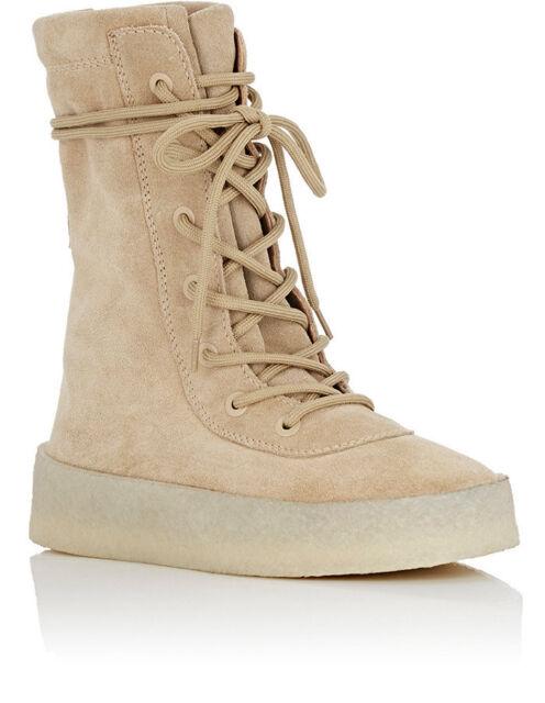 wholesale dealer 2225c 5d5b0 Yeezy Season 2 Beige Tan Crepe Sole BOOTS 7 40 Authentic ( )
