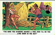 Vintage Saucy Risqué Comic Postcard 1970s Photography Vintage Box Camera