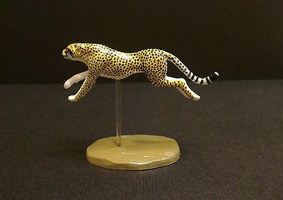 RARE Colorata (like Kaiyodo) Running Cheetah Big Cat Figure Japan Only Retired!