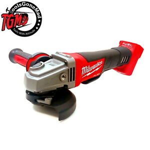 """Milwaukee M18CAG125XPD 18V Fuel Brushless 125mm 5"""" Angle Grinder M18CAG125XPD-0"""