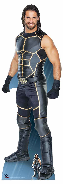 Seth Rollins WWE LifeGröße and Mini Cardboard Cutout   Standup   Standee Wrestler