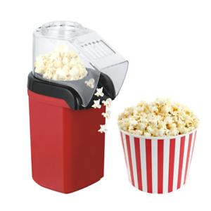 Popcornmaschine 1200W Heißluft Popcorn Maker für Zuhause